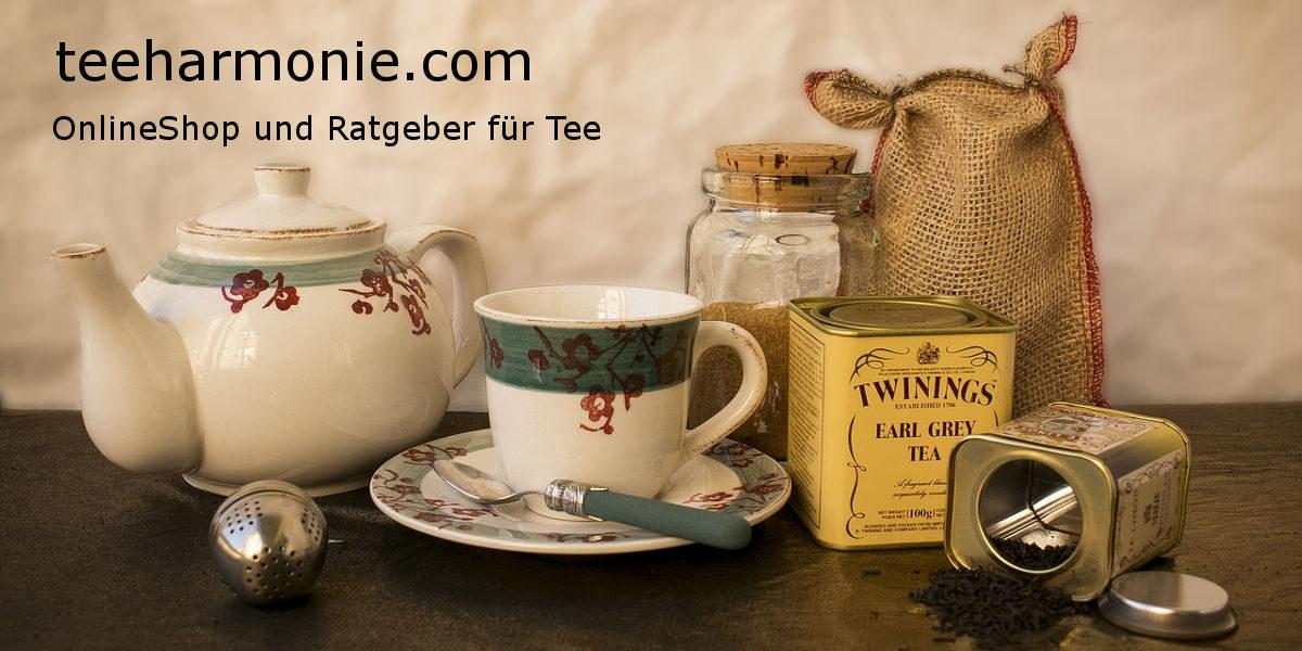 teeharmonie.com - OnlineShop und Ratgeber für Tee